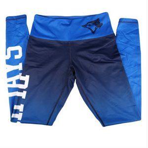Toronto Blue Jays Logo MLB Leggings Ombre Blue S